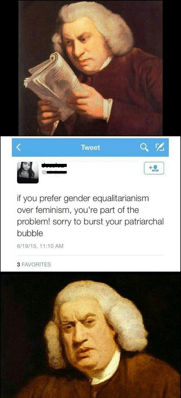 Feminists Q&A - meme