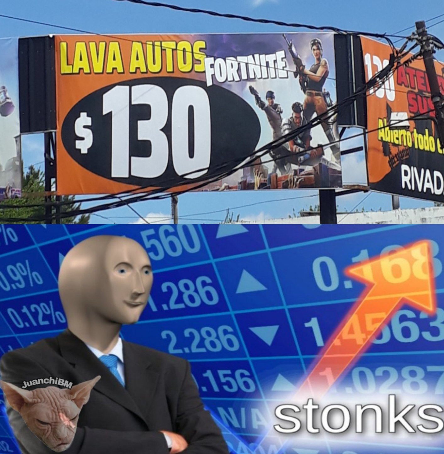 Lavanderia FORTNAIT - meme