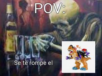 NOOOOO MI TIRANOSAURIO - meme