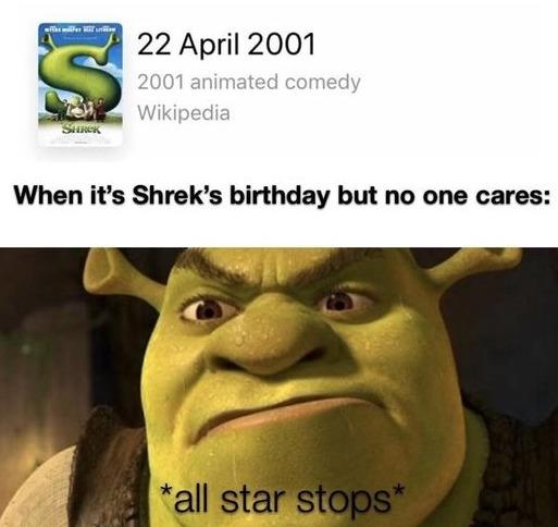 *all star stops* - meme
