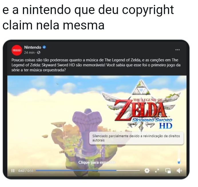 Nintendo kkkkkkkkk - meme