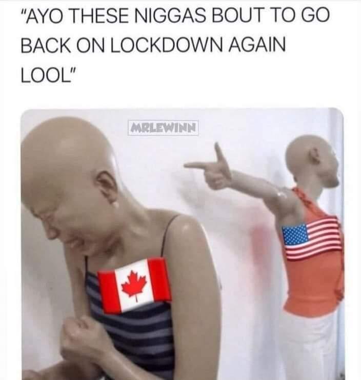 Back to lockdown - meme