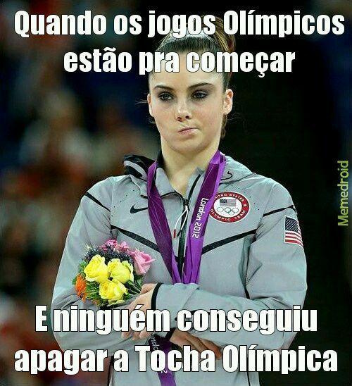 Jogos Olímpicos Rio 2016 - meme