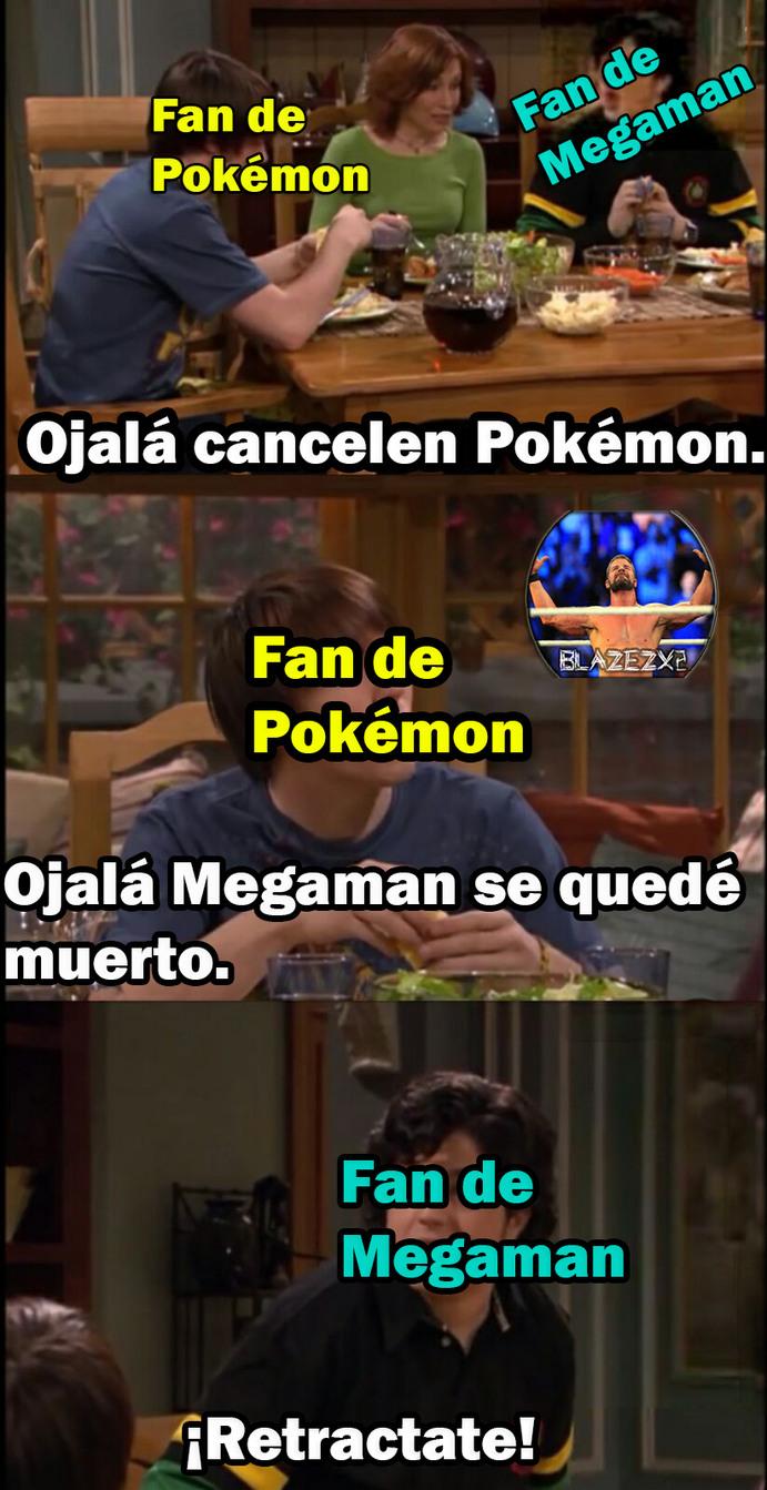 ¿Quién no extraña a Megaman? :(. - meme