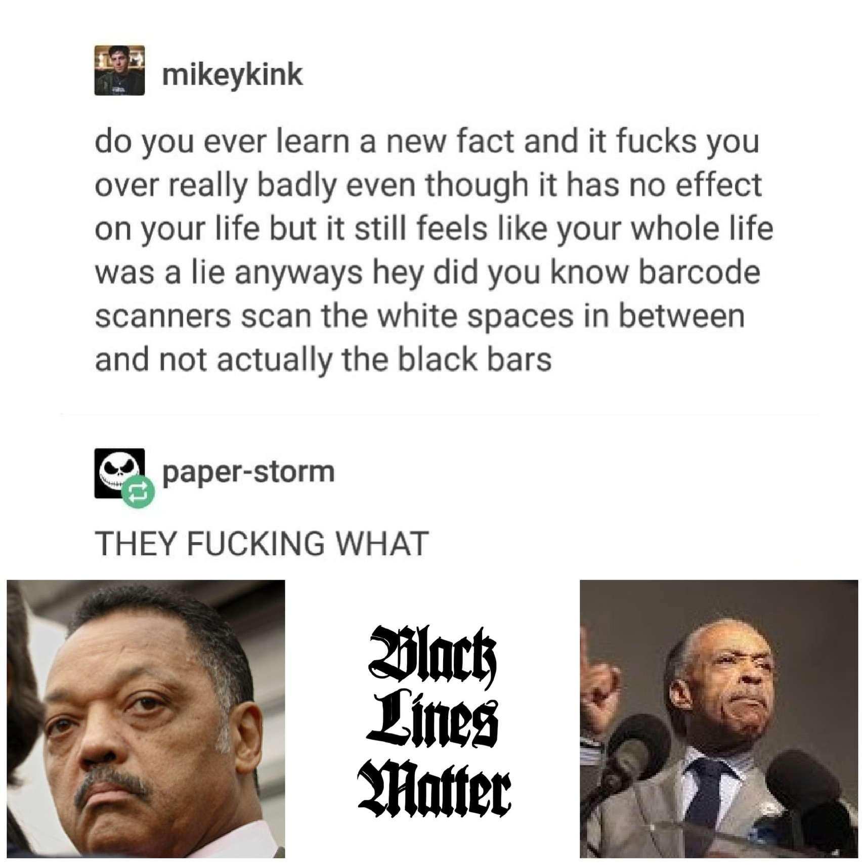 Black lines matter!!! - meme