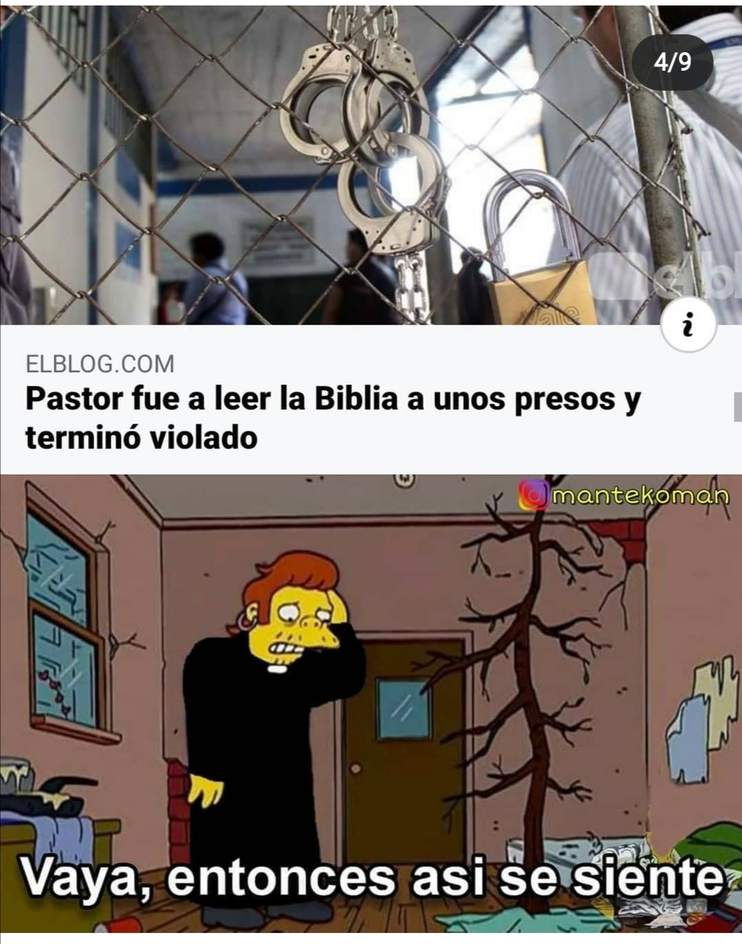 Pastor - meme