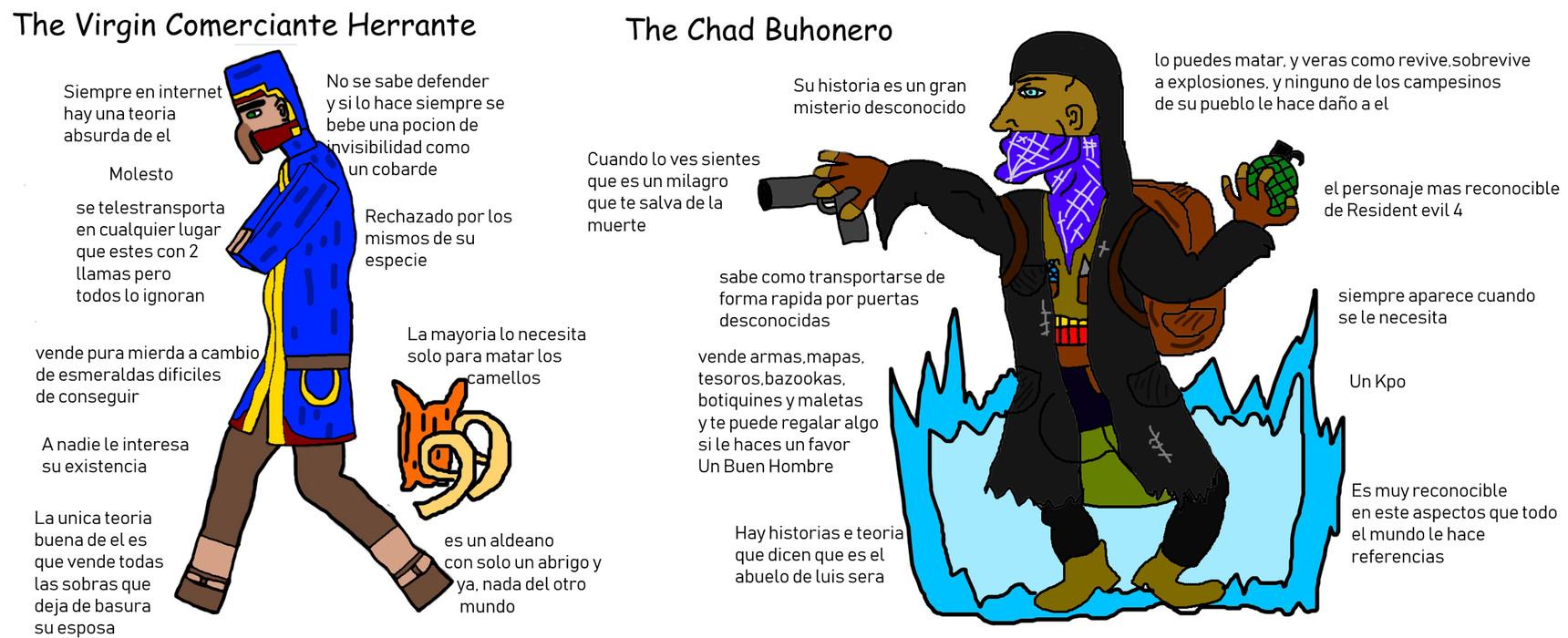 Un kpo el buhonero y silencio, nada mas - meme