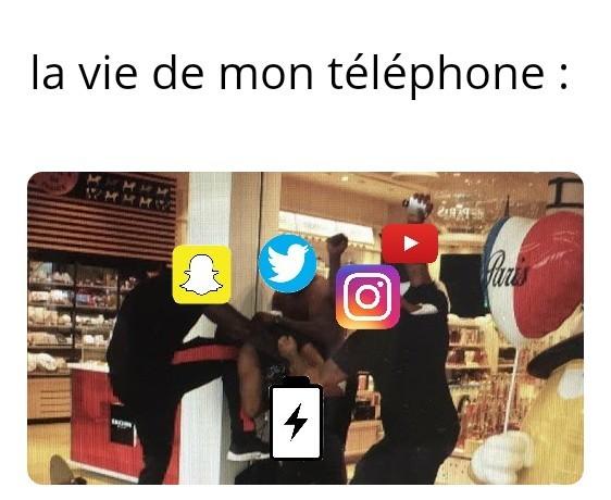 Rip la batterie - meme