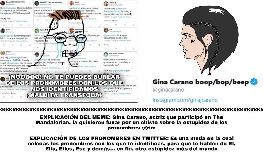 Gina Chadrano - meme