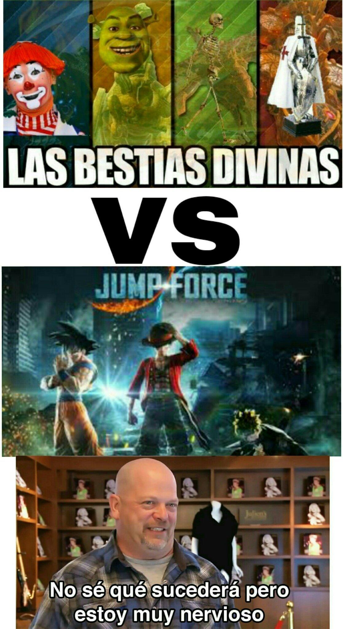Jump force - meme