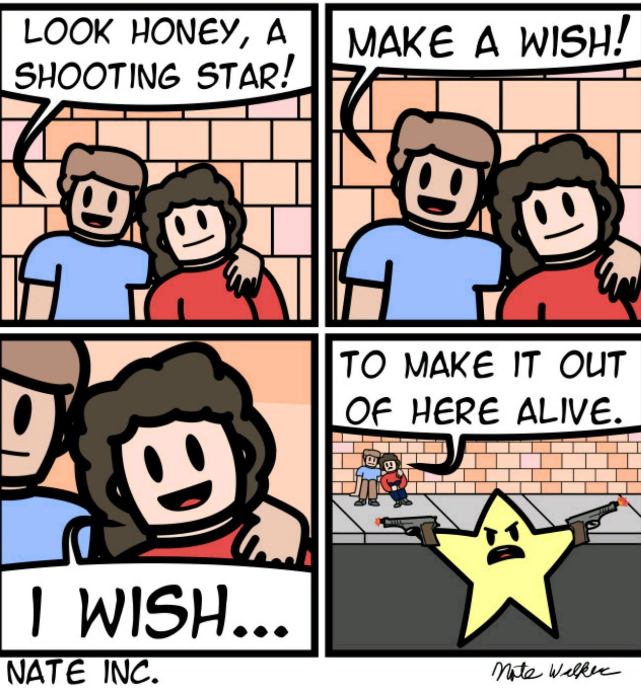 Shooting star - meme