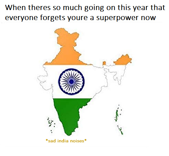 india superpower 2020 - meme
