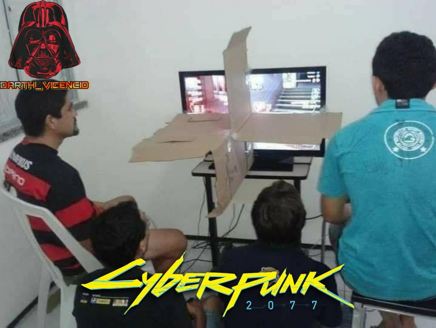 Un poco pasado de moda lo de Cyberpunk - meme