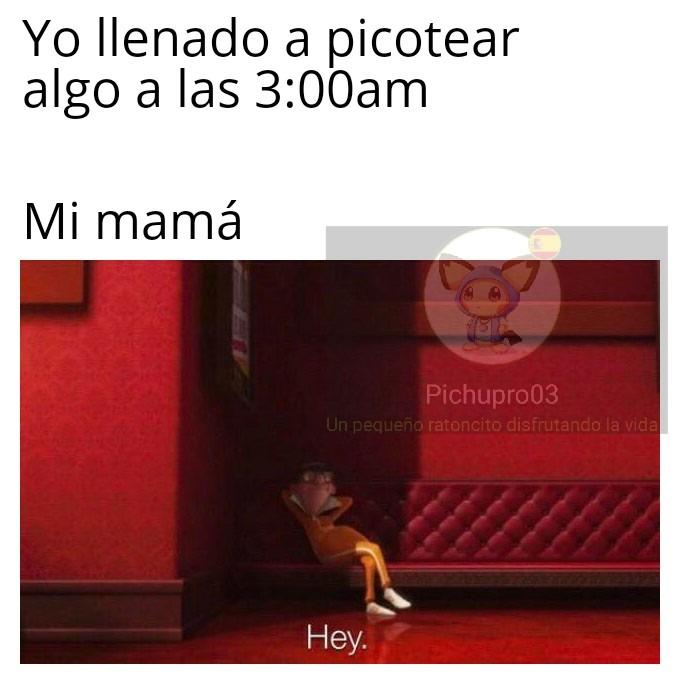Las mamás - meme