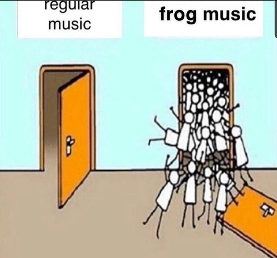I am a musical genius - meme