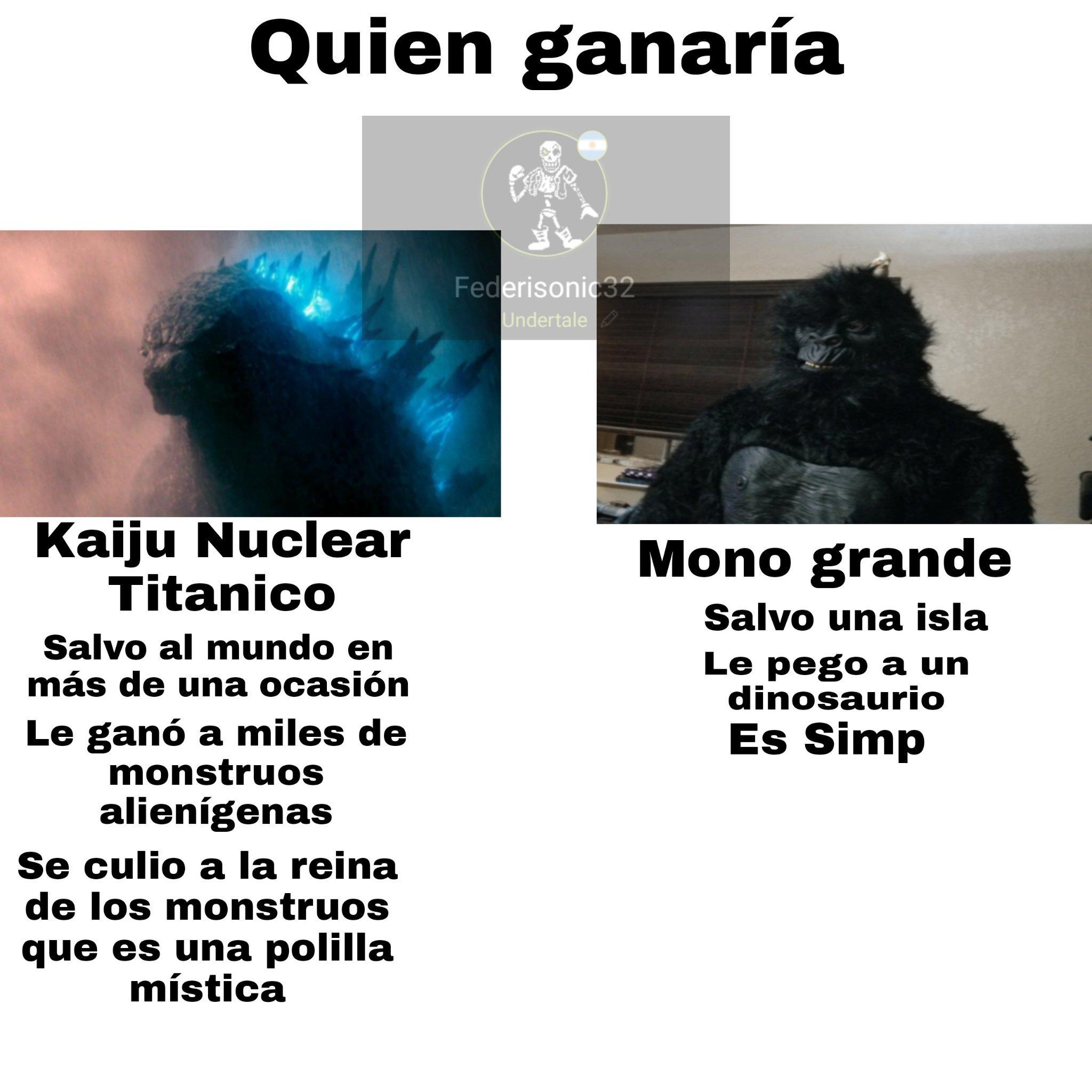 Mono grande xd - meme