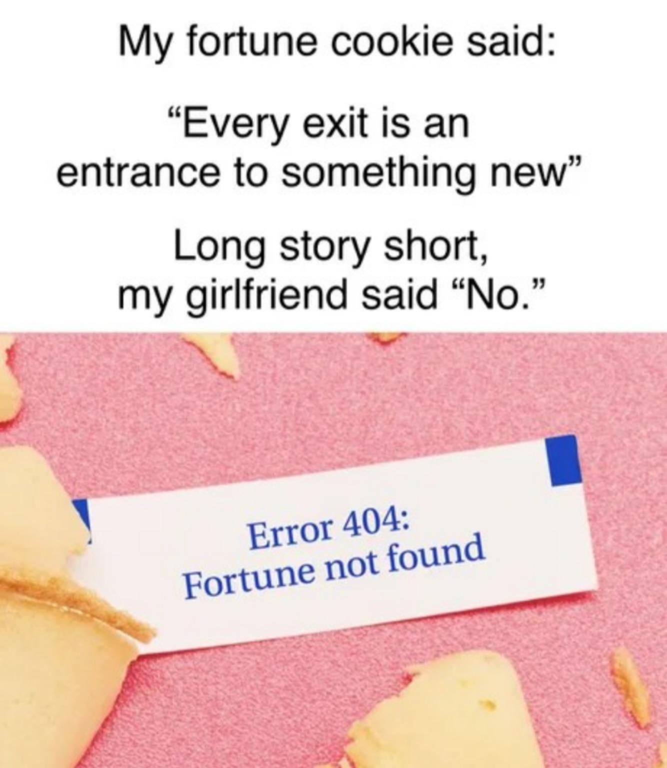 Rejected - meme