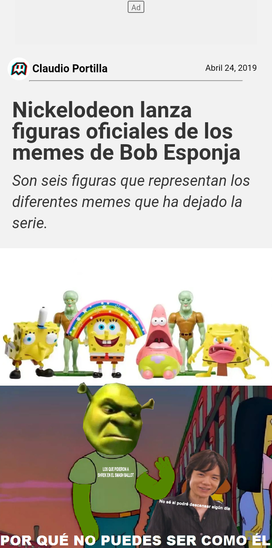 Shrek ganó las votaciones del smash ballot por los memes, al igual que shaggy