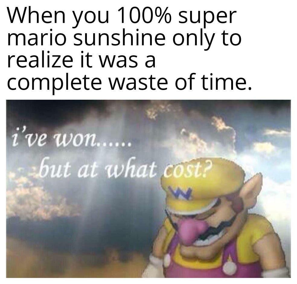 It's not worth it. - meme