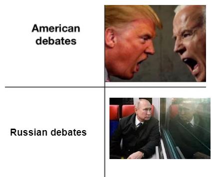 """El que diga """"Asi lo hacemos en la madre Rusia"""" se la come - meme"""