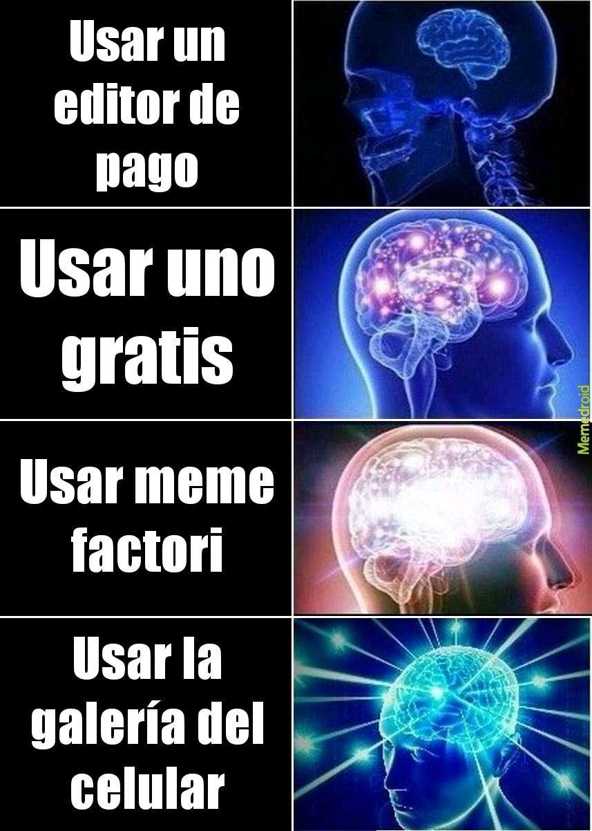 Mejor editor 2020 - meme