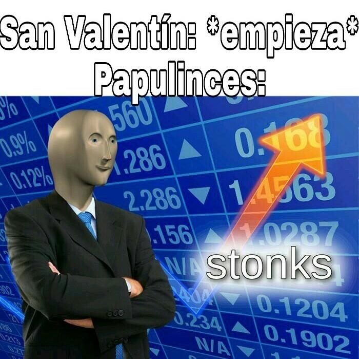 Feliz San Valentín a todos los enamorados (esquizofrénicos) - meme