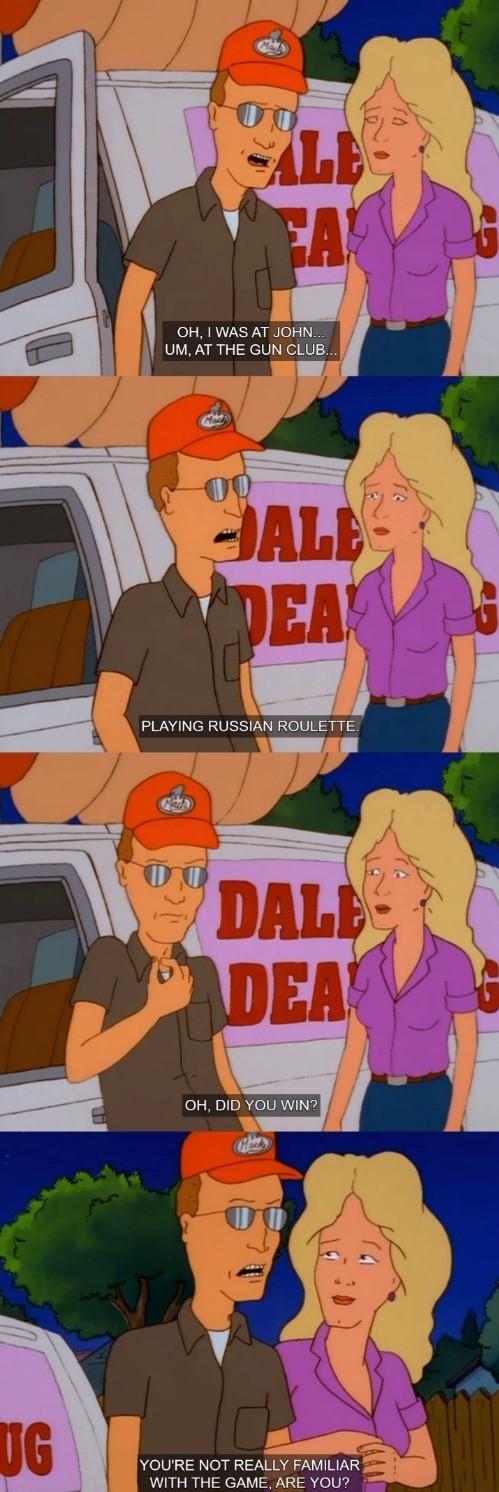 More Dale - meme
