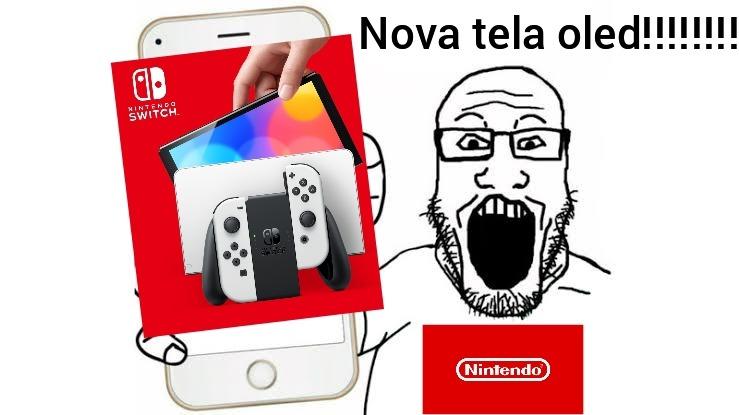 Nintendo switch oled - meme