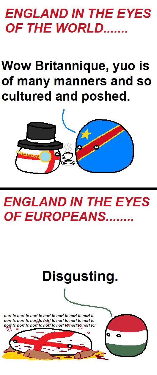 England : the Florida of Europe - meme