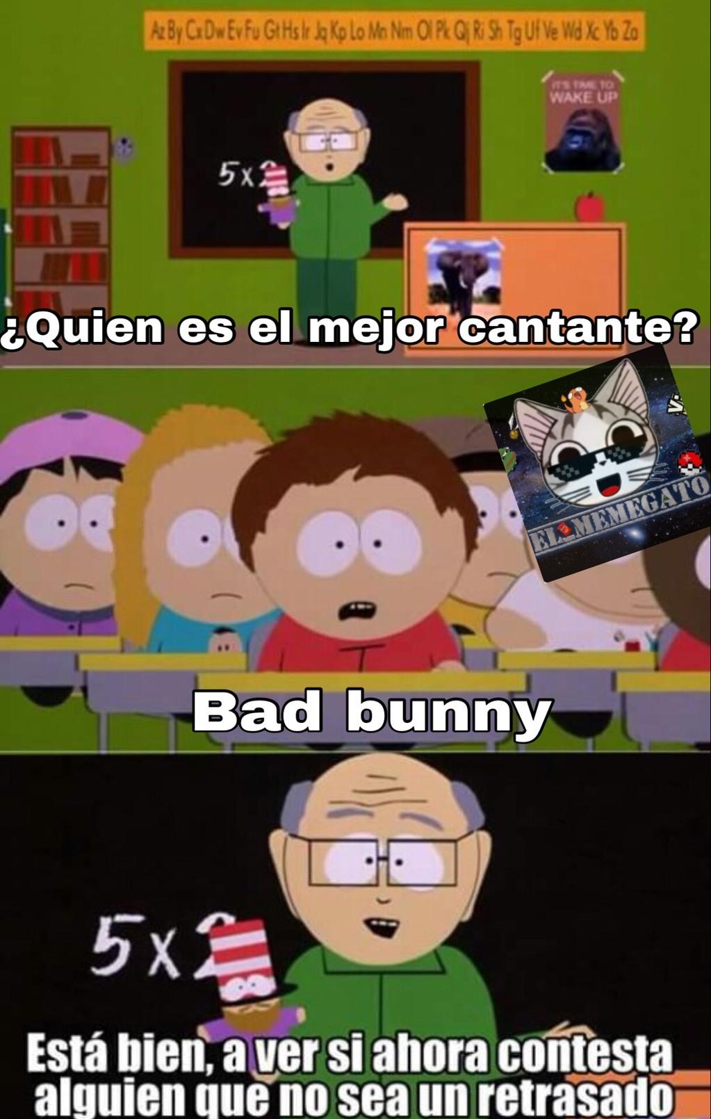 Bad buni = destruye tímpanos - meme