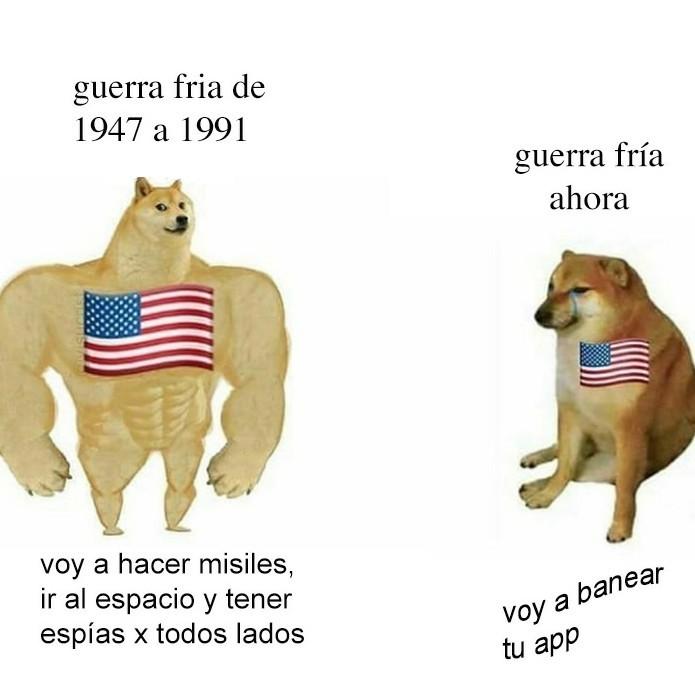Guerra fría - meme