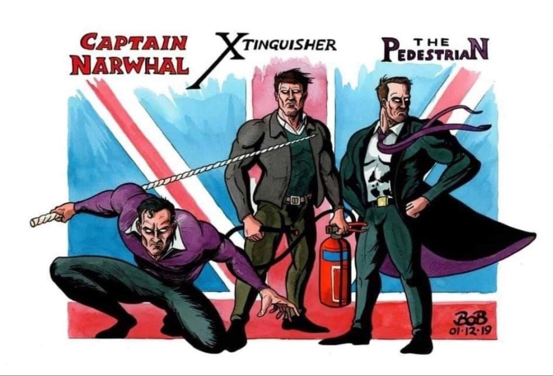 British Avengers - meme