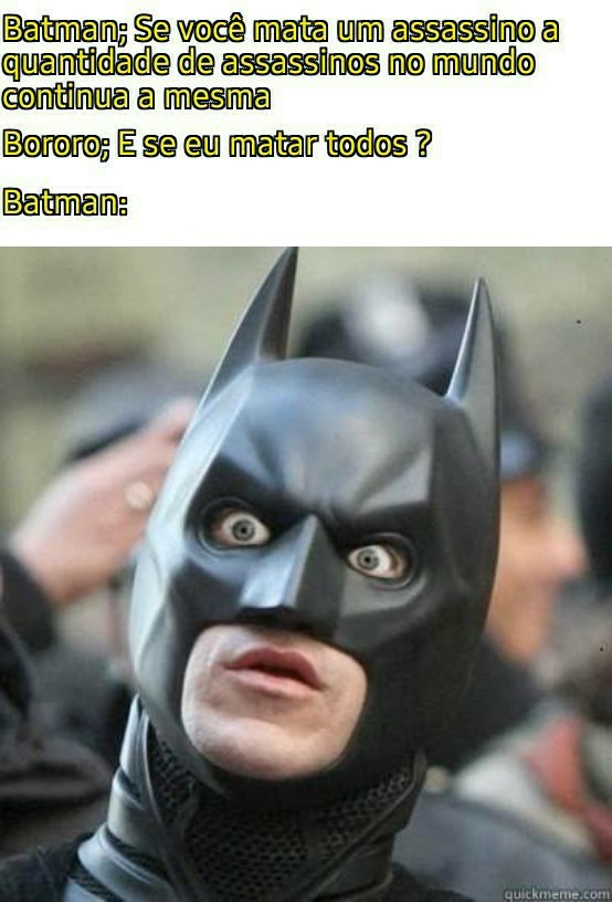 Batman surprised pikachu mode ON - meme