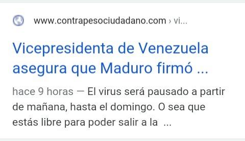 Nicolás Maduro le pone pausa al virus - meme