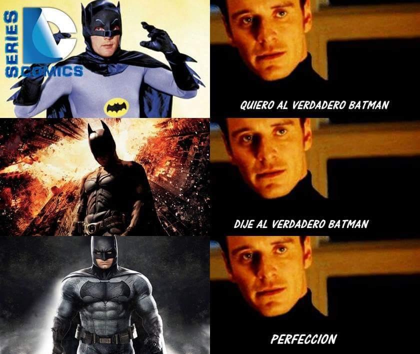 todos queremos a batman - meme