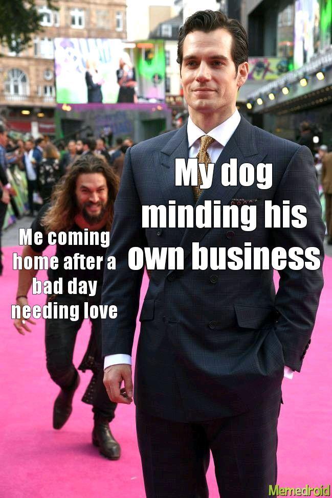 Title loves his god - meme