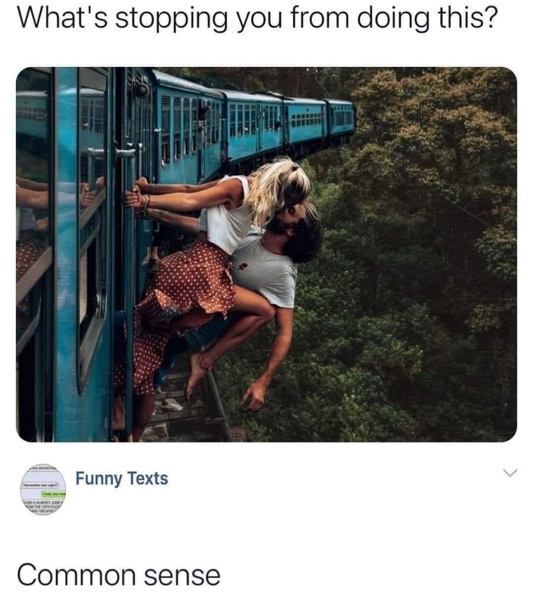 common sense - meme