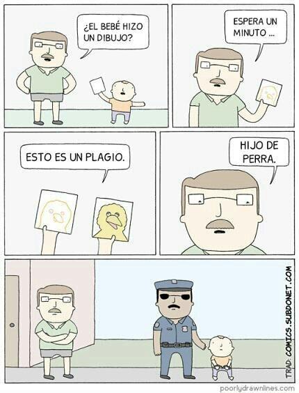 Plagio everywhere - meme