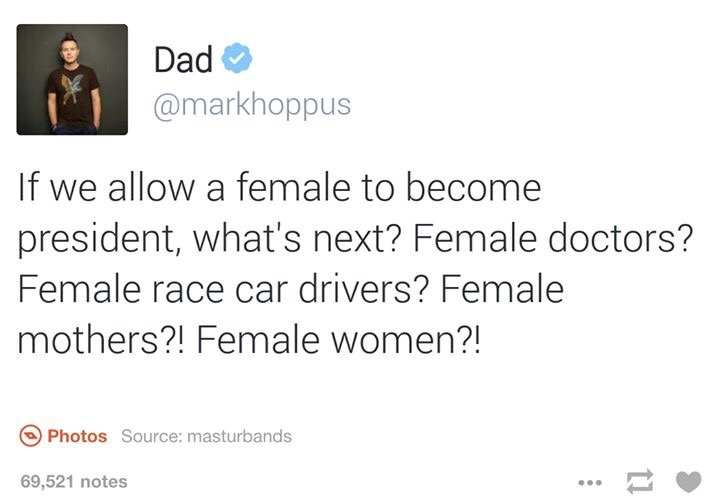 what about female females ? - meme