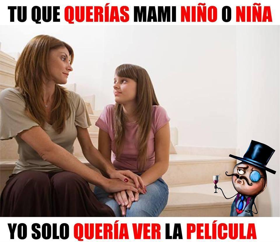 Pobre mama :'c - meme