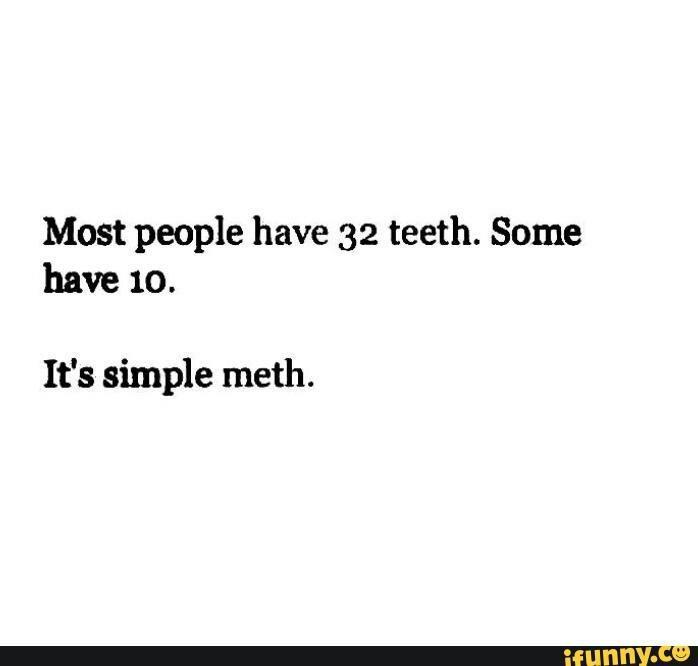 Simple meth - meme