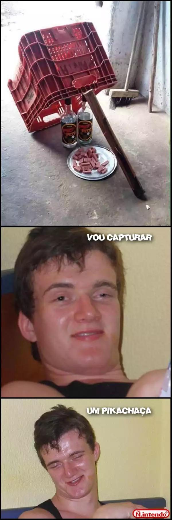 Pokemon GO aqui no Brasil. - meme