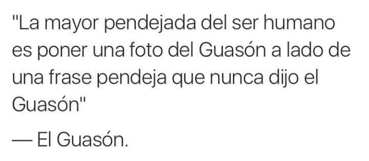 """""""Siganme"""" -El Guason - meme"""