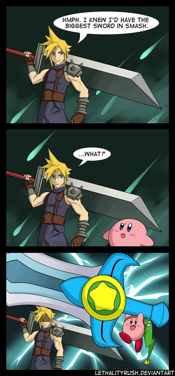 Cook Kirby was better though... - meme