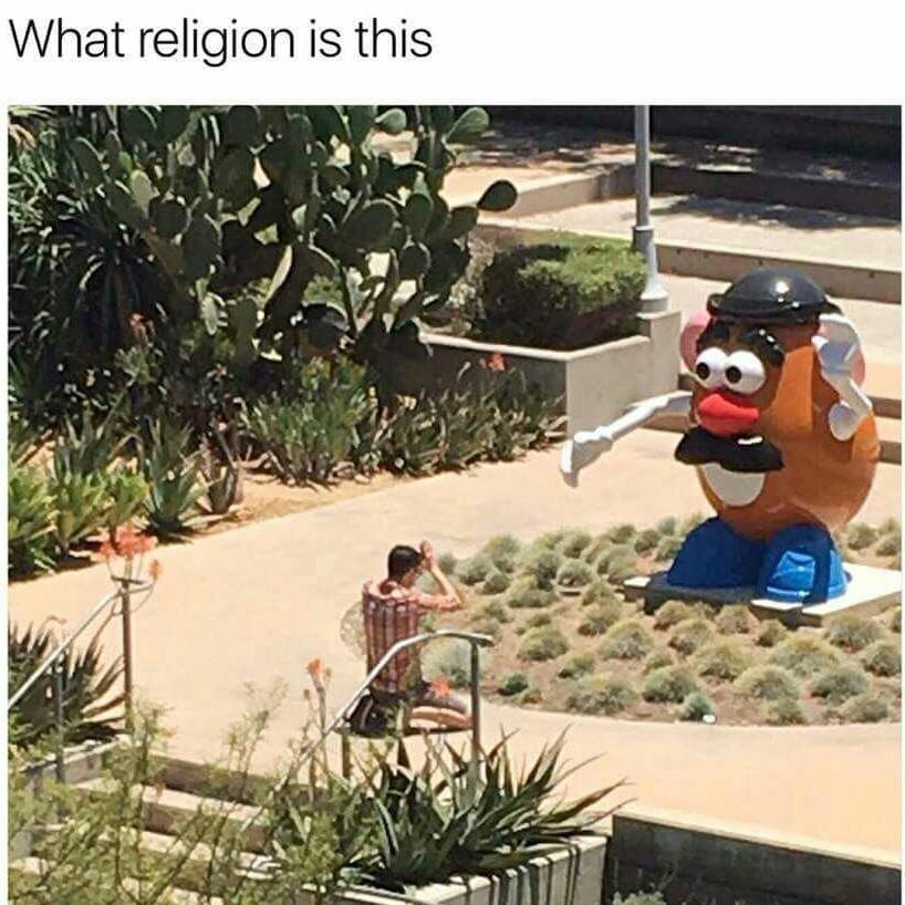 Essayer de trouver un bon nom pour cette religion svp - meme