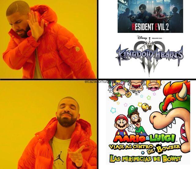 Los que lo hayan jugado sabrán que es un juegazo xD - meme