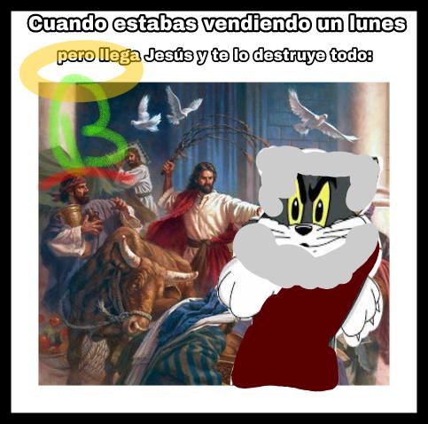 Lunes santo - meme