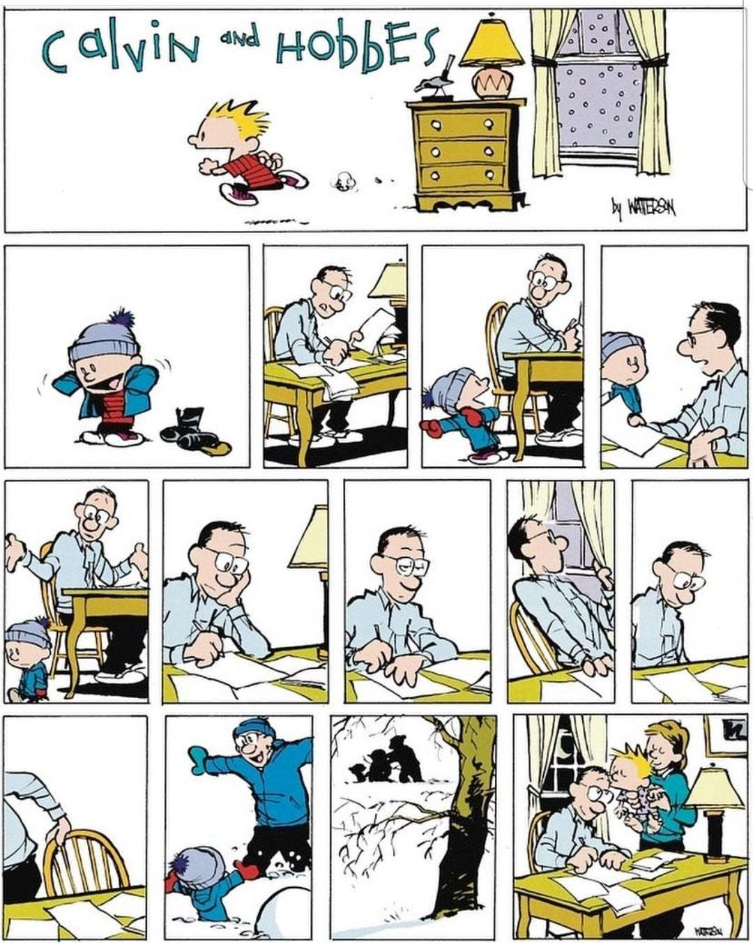 O still have all my Calvin and Hobbes books! Miss this - meme
