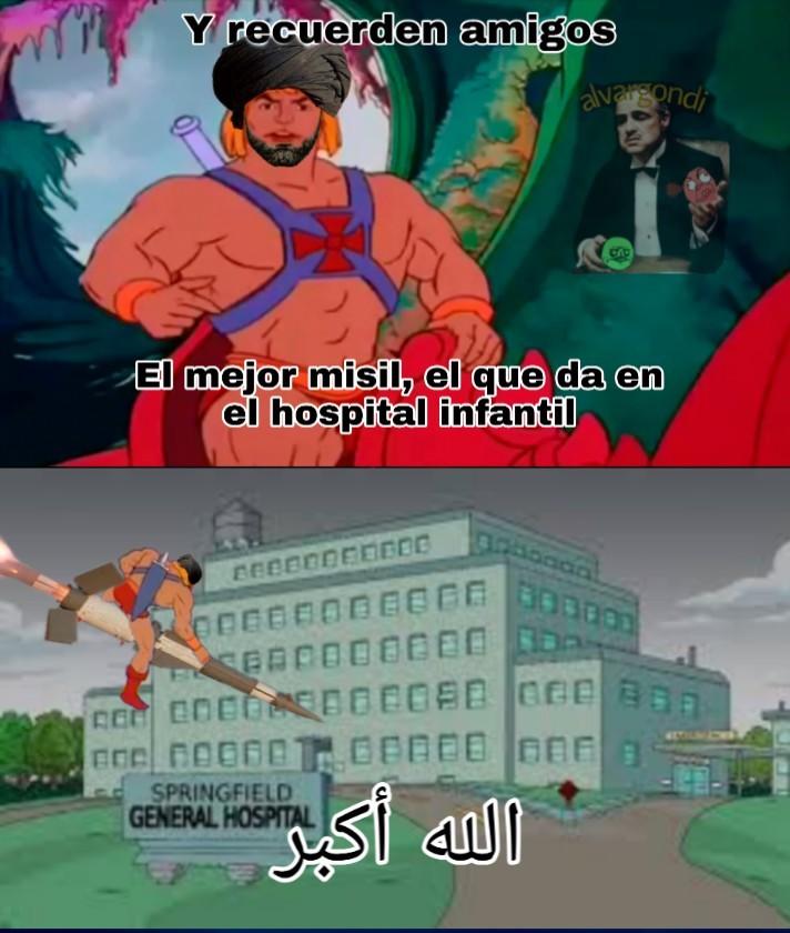 He man visita a los enfermos también - meme