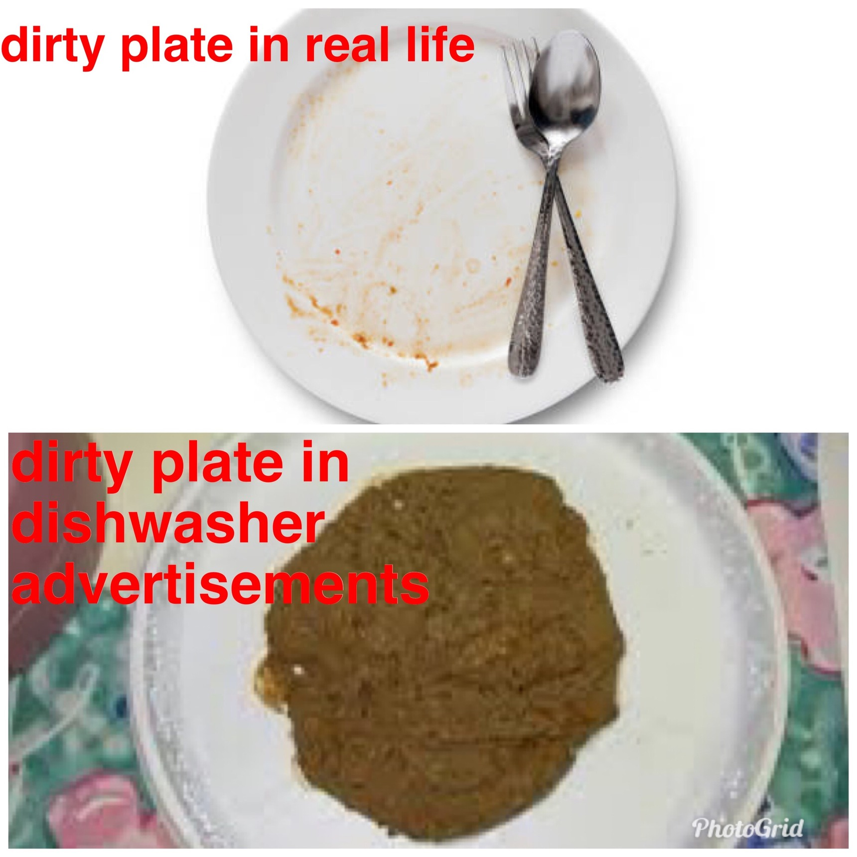 dishwasher and sh** - meme